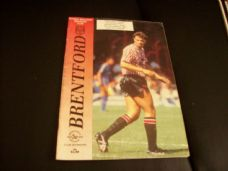 Brentford v Bury, 1989/90